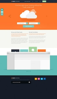 Cloud interface for stilysh web design