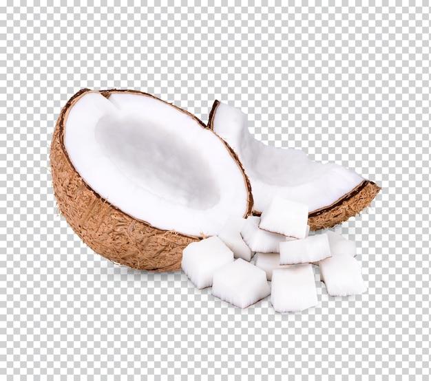 Кокосовый орех премиум psd