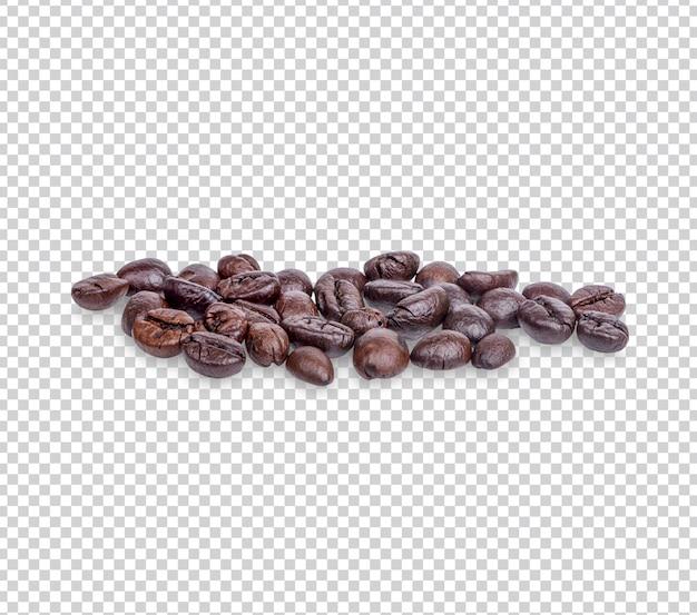 커피 콩 절연 프리미엄 psd