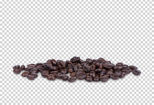 Кофе в зернах изолированные