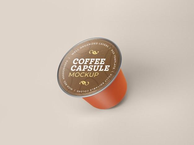コーヒーカプセルモックアップ
