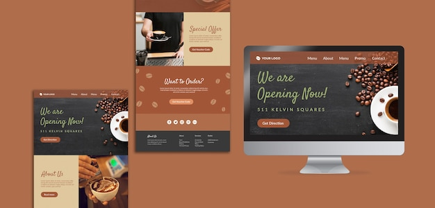 Coffee concept mock-up