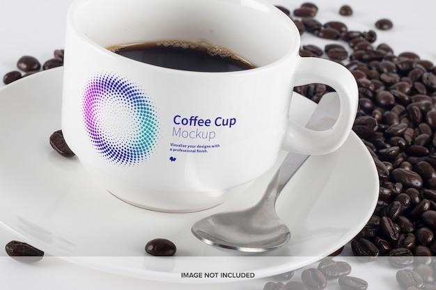 커피 컵 모형