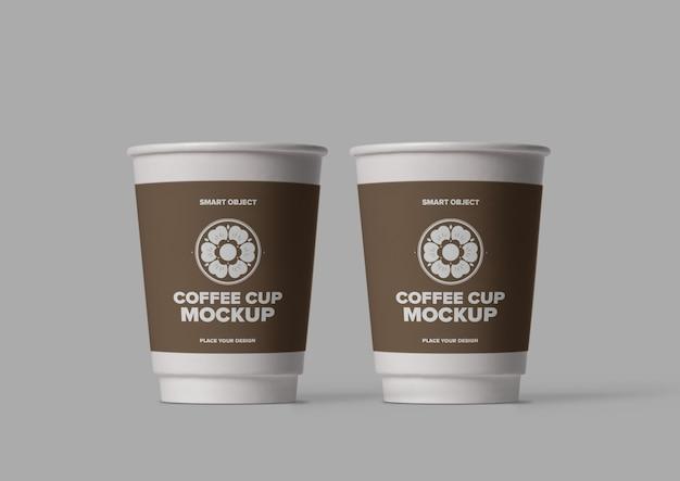 Макет кофейной чашки