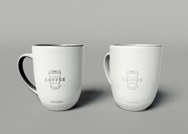 Мокап кофейной чашки