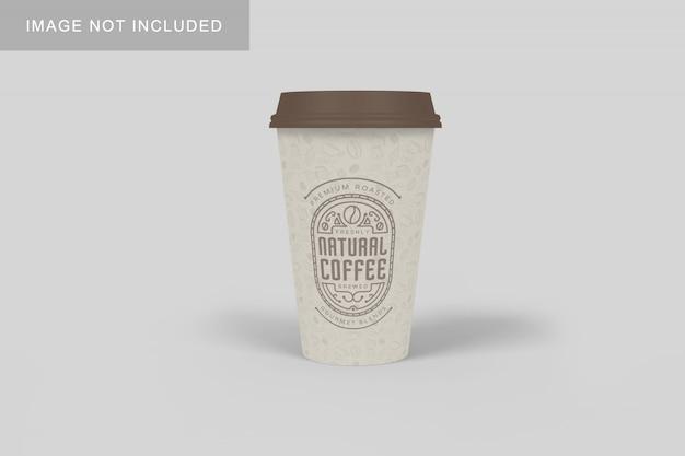 Кофейная чашка макет