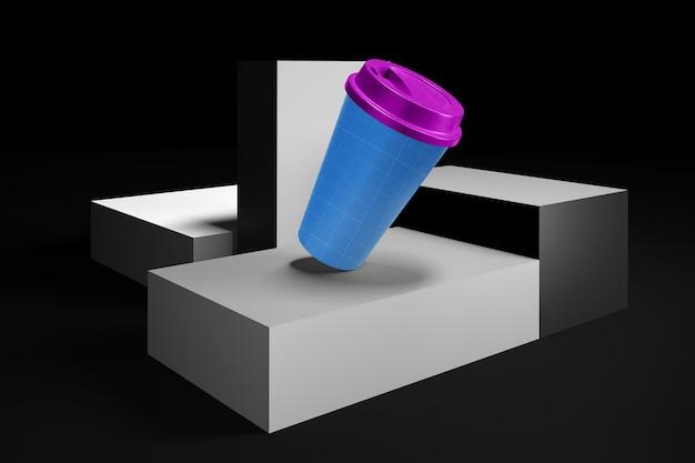 Чашка кофе на уровнях