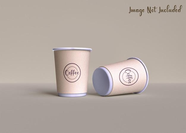 커피 컵 포장 프로토 타입