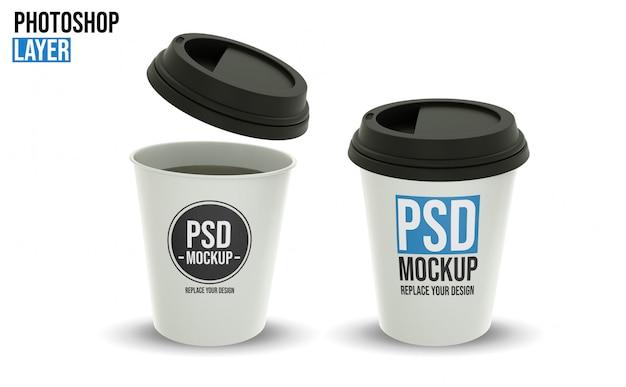Макеты кофейных чашек