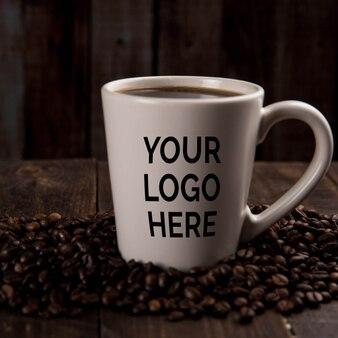 Coffee mockup for logo