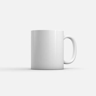 コーヒーマグモックアップ正面図