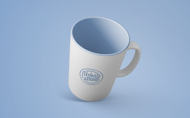 Coffee mug mockup for merchandising