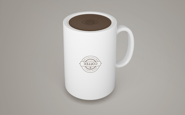 Coffee mug mockup for merchandising