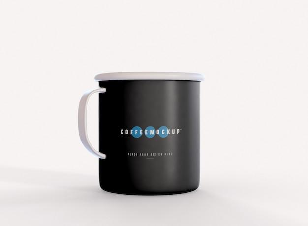 커피 머그 모형