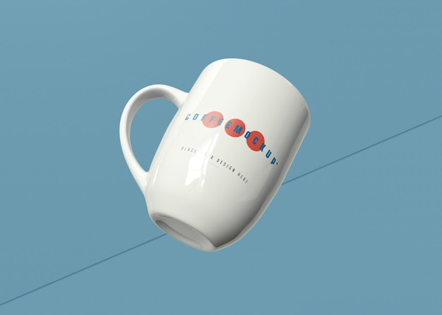 Макет кофейной кружки