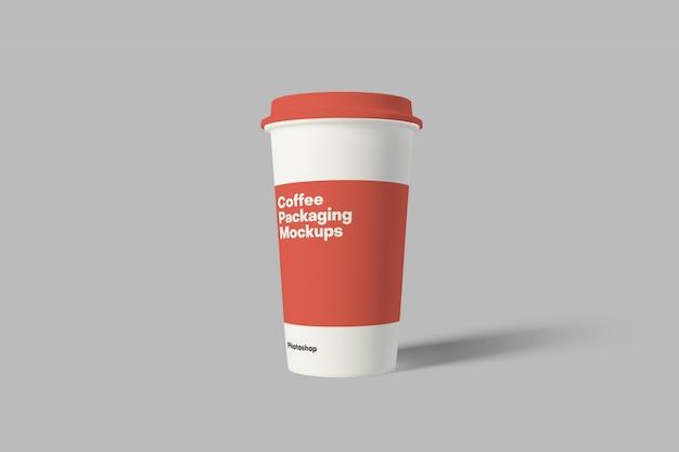 コーヒー包装モックアップ