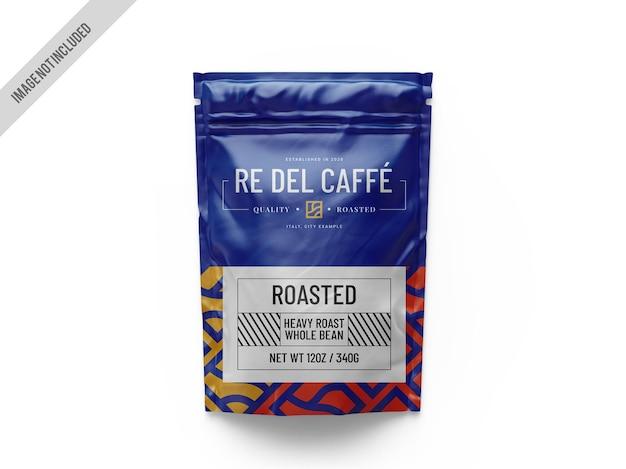 커피 파우치 목업 프리미엄 PSD 파일
