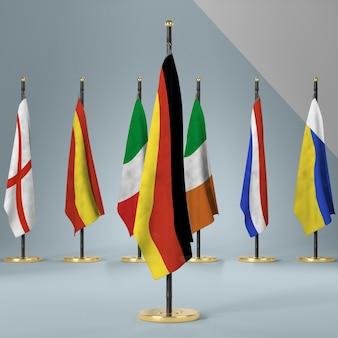 Raccolta di bandiere