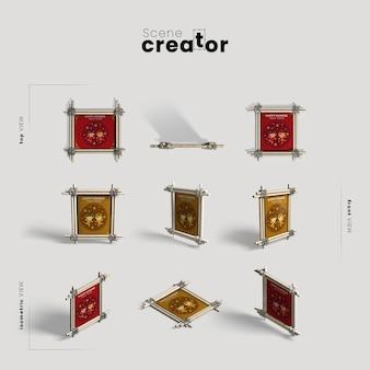 중국 새 해 프레임의 컬렉션