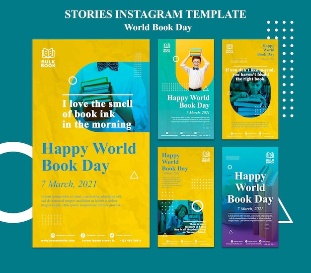 Collection of world book day stories