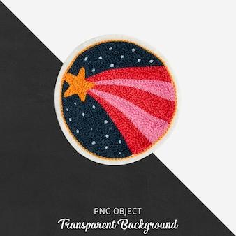 Красочный шар с ночной концептуальной накладкой