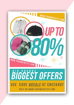 Colorful Poster Discount
