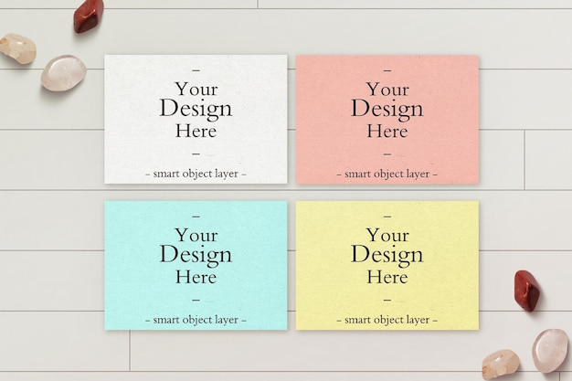Colorfull 수평 종이 모형 디자인