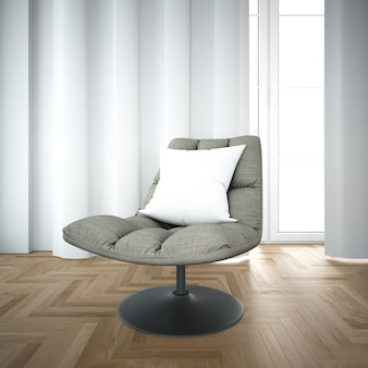 Удобное современное кресло