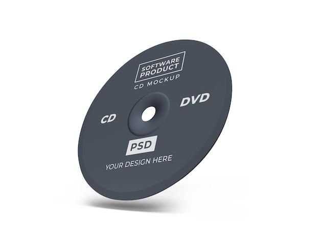 컴팩트 디스크 cd 3d 모형 디자인