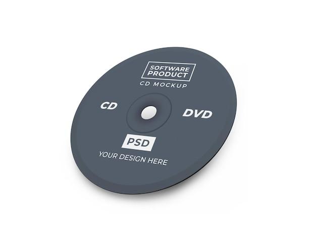Дизайн макета компакт-диска cd 3d
