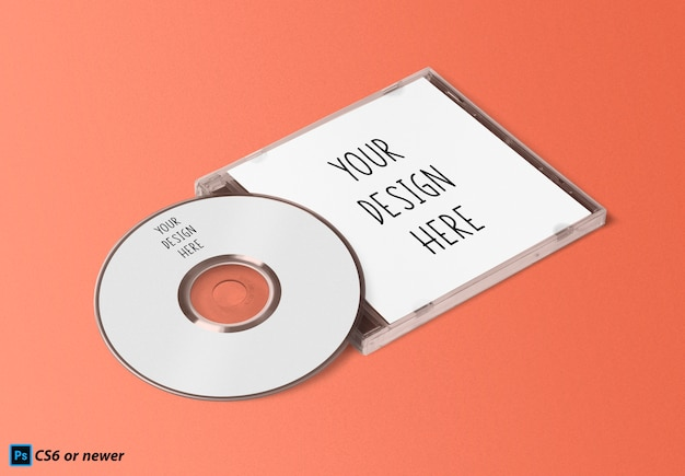 Compact disc mock up