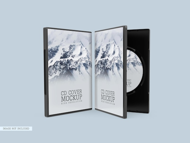 Компакт-диск с макетом обложки