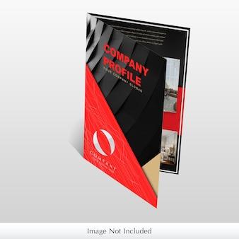 Company brochure mockup
