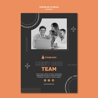 Плакат о развитии бизнеса компании