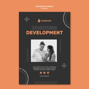 Company business development poster