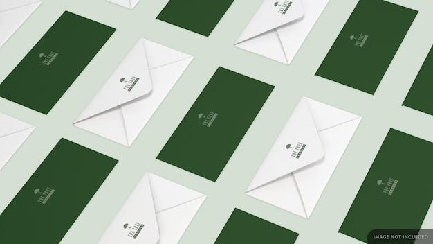 회사 봉투 모형