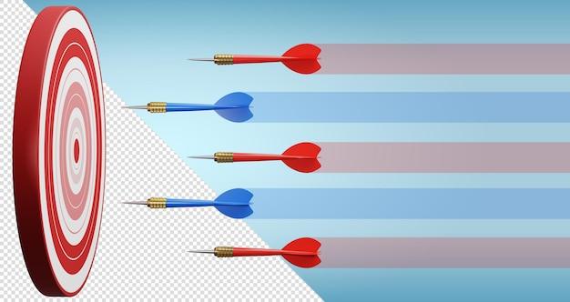 Конкурентное преимущество, концепция стратегического маркетинга 3d иллюстрация