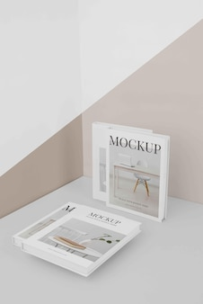 Composition of mock-up book cover