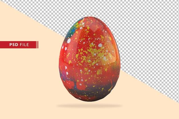 3d 부활절 달걀의 구성