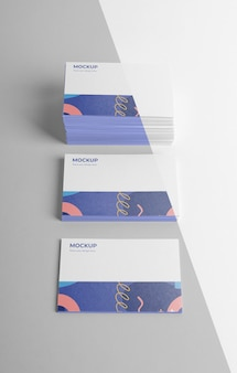 Состав визитной карточки образца