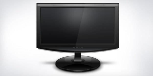 Computer monitor icon  psd