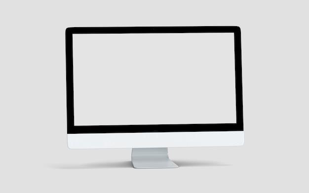 Computer monitor screen mockup