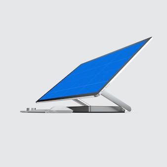 コンピュータ画面のモックアップ