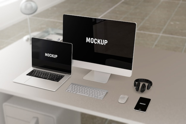 Computing devices mockup