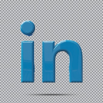 개념 3d 아이콘 linkedin