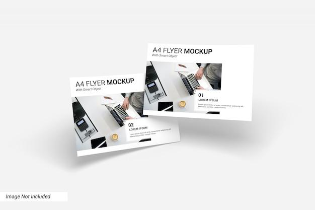 Концепция бизнес флаер макет