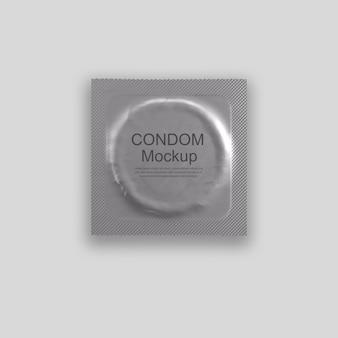 Condom mockup