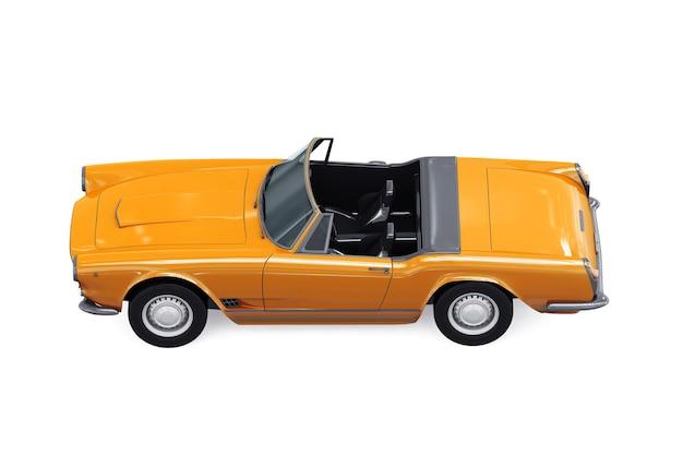Кабриолет старый макет автомобиля