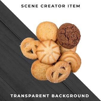 クッキーの透明なpsd