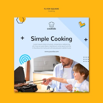 Volantino di cucina a casa